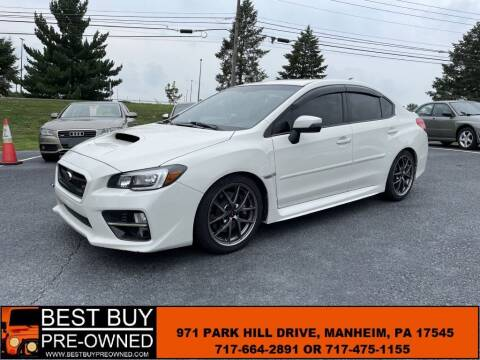 2016 Subaru WRX for sale at Best Buy Pre-Owned in Manheim PA