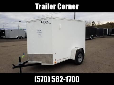 Look Trailers STLC 5X8 BARN DOOR