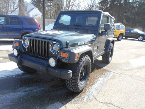 2005 Jeep Wrangler for sale at Michigan Auto Sales in Kalamazoo MI