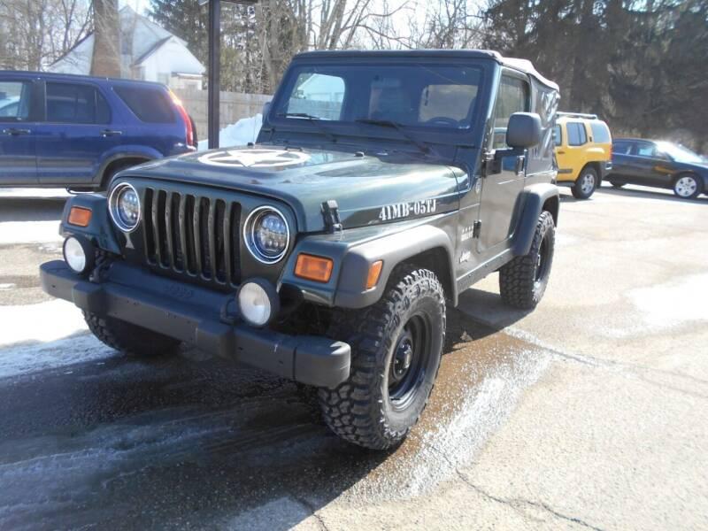 2005 Jeep Wrangler for sale at Michigan Auto Sales in Kalamazoo MI