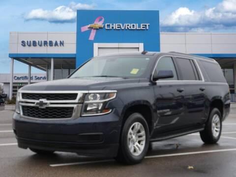 2017 Chevrolet Suburban for sale at Suburban Chevrolet of Ann Arbor in Ann Arbor MI