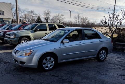 2008 Kia Spectra for sale at Budget City Auto Sales LLC in Racine WI