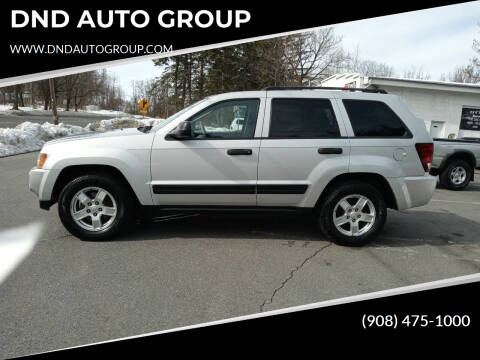 2006 Jeep Grand Cherokee for sale at DND AUTO GROUP in Belvidere NJ