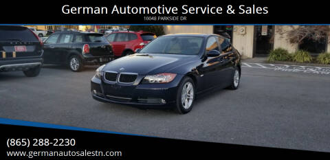 2008 BMW 3 Series for sale at German Automotive Service & Sales in Knoxville TN