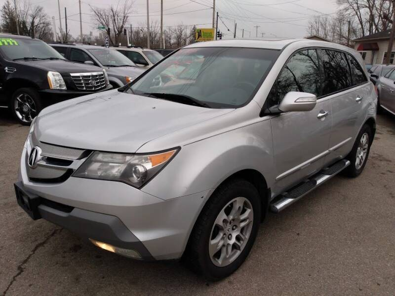 2009 Acura MDX for sale at AutoLink LLC in Dayton OH