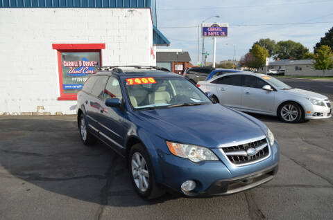 2008 Subaru Outback for sale at CARGILL U DRIVE USED CARS in Twin Falls ID