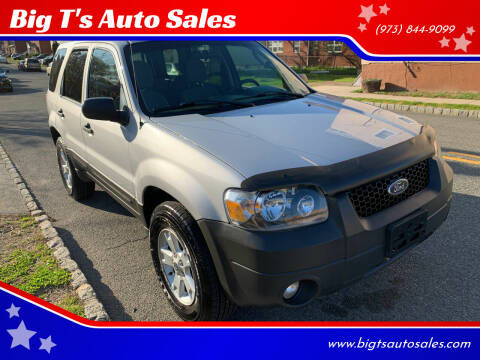 2007 Ford Escape for sale at Big T's Auto Sales in Belleville NJ