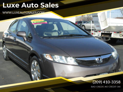 2010 Honda Civic for sale at Luxe Auto Sales in Modesto CA