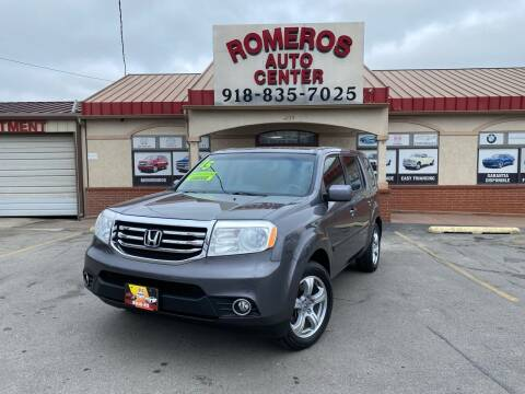 2015 Honda Pilot for sale at Romeros Auto Center in Tulsa OK