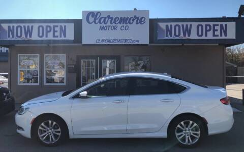 2015 Chrysler 200 for sale at Claremore Motor Company in Claremore OK