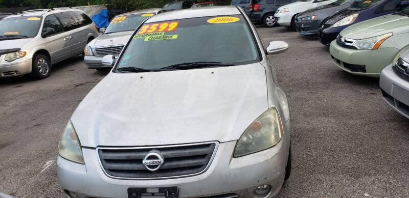 2006 Nissan Altima for sale at Anthony's Auto Sales of Texas, LLC in La Porte TX