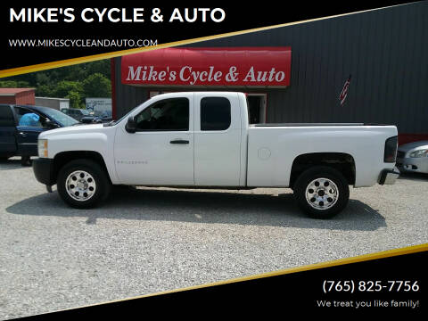 2009 Chevrolet Silverado 1500 for sale at MIKE'S CYCLE & AUTO in Connersville IN
