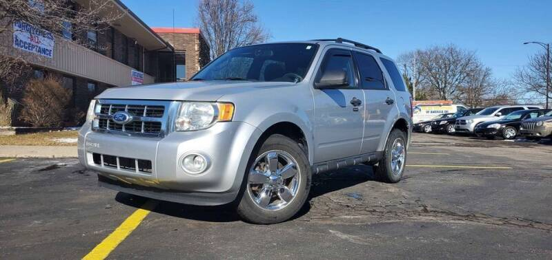 2010 Ford Escape for sale at Cj king of car loans/JJ's Best Auto Sales in Troy MI