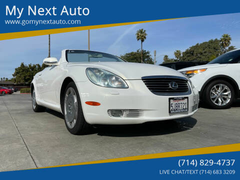 2004 Lexus SC 430 for sale at My Next Auto in Anaheim CA