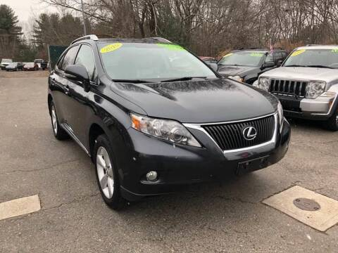 2010 Lexus RX 350 for sale at TOLLAND CITGO AUTO SALES in Tolland CT