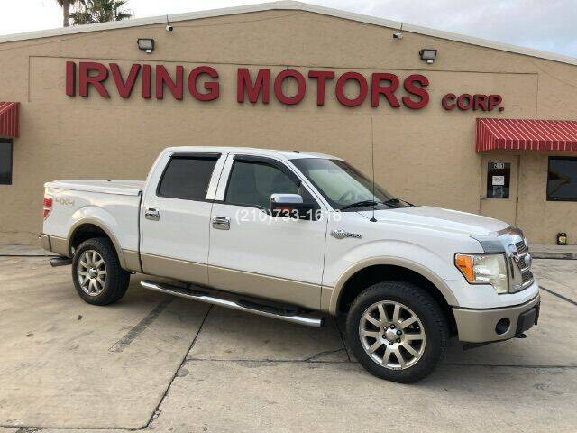 2009 Ford F-150 for sale at Irving Motors Corp in San Antonio TX