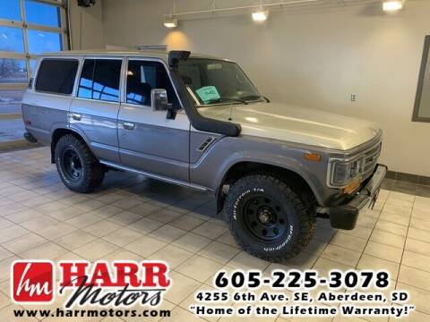 1988 Toyota Land Cruiser for sale at Harr Motors Bargain Center in Aberdeen SD