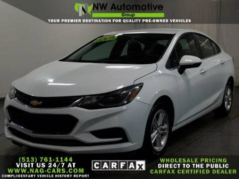 2018 Chevrolet Cruze for sale at NW Automotive Group in Cincinnati OH
