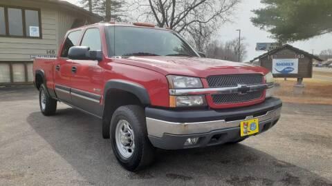2004 Chevrolet Silverado 2500 for sale at Shores Auto in Lakeland Shores MN