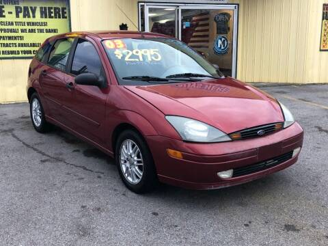 2003 Ford Focus for sale at Mr. G's Auto Sales in Shelbyville TN