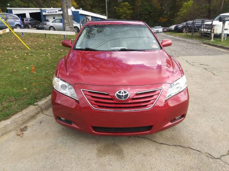 2007 Toyota Camry for sale at Moreland Motorsports in Conley GA