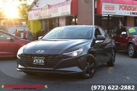 2021 Hyundai Elantra for sale at www.onlycarsnj.net in Irvington NJ