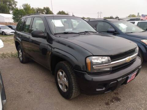 2005 Chevrolet TrailBlazer for sale at L & J Motors in Mandan ND