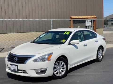2015 Nissan Altima for sale at Evolution Auto Sales LLC in Springville UT