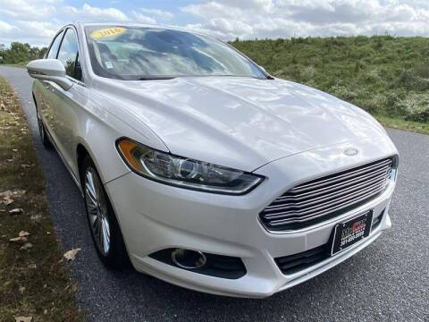 2016 Ford Fusion for sale at Mr. Car City in Brentwood MD