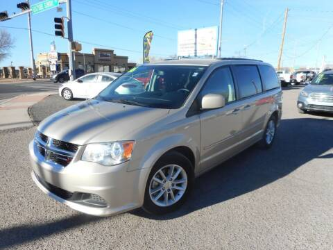 2016 Dodge Grand Caravan for sale at AUGE'S SALES AND SERVICE in Belen NM