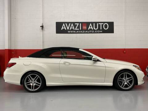 2015 Mercedes-Benz E-Class for sale at AVAZI AUTO GROUP LLC in Gaithersburg MD