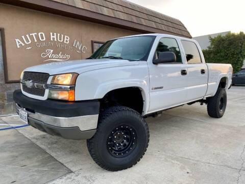 2004 Chevrolet Silverado 2500HD for sale at Auto Hub, Inc. in Anaheim CA