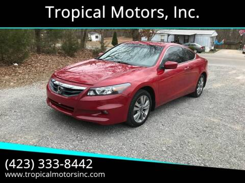 2011 Honda Accord for sale at Tropical Motors, Inc. in Riceville TN