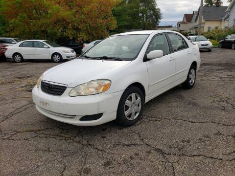 2006 Toyota Corolla for sale at USA AUTO WHOLESALE LLC in Cleveland OH