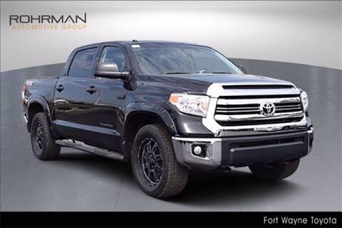 2017 Toyota Tundra for sale at BOB ROHRMAN FORT WAYNE TOYOTA in Fort Wayne IN