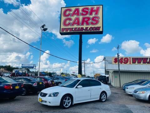 2005 Nissan Altima for sale at www.CashKarz.com in Dallas TX