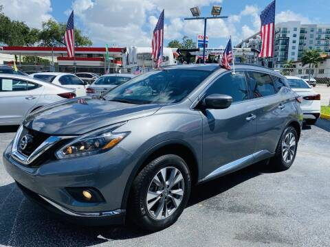 2018 Nissan Murano for sale at CHASE MOTOR in Miami FL