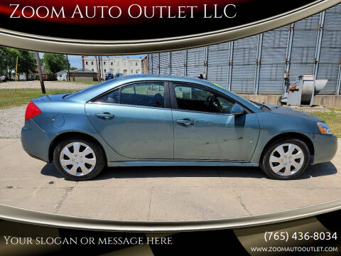 2009 Pontiac G6 for sale at Zoom Auto Outlet LLC in Thorntown IN