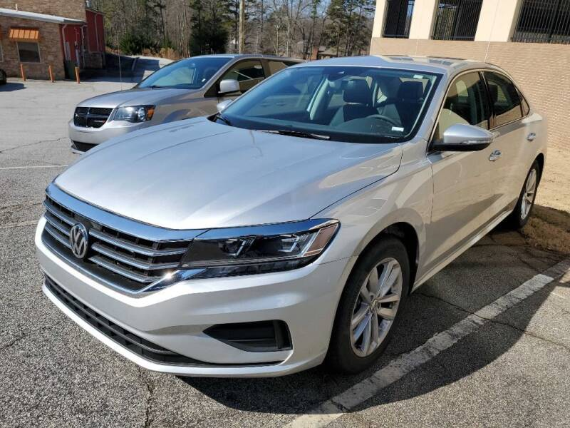 2020 Volkswagen Passat for sale at THE TRAIN AUTO SALES & LEASING in Mauldin SC