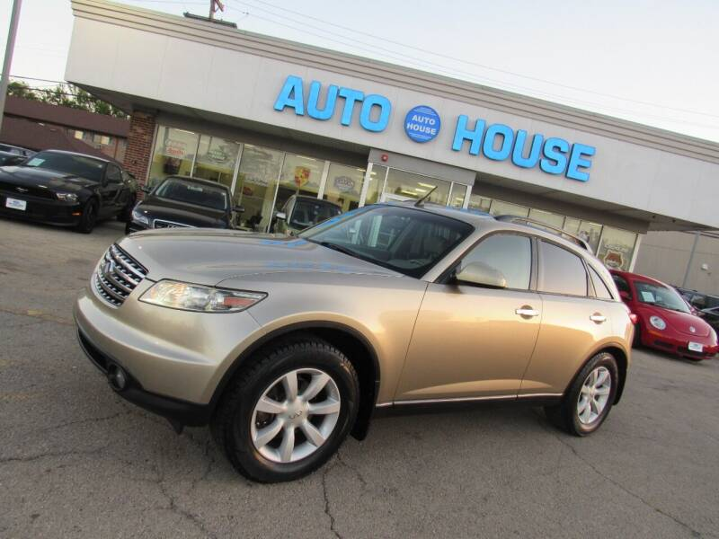 2004 Infiniti FX35 for sale at Auto House Motors in Downers Grove IL