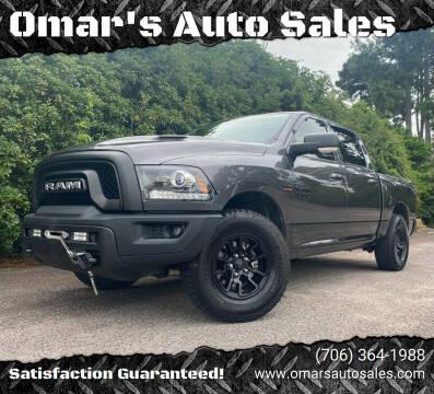 2017 RAM Ram Pickup 1500 for sale at Omar's Auto Sales in Martinez GA