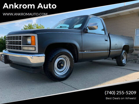 1990 Chevrolet C/K 1500 Series for sale at Ankrom Auto in Cambridge OH