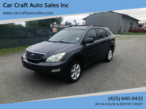 2004 Lexus RX 330 for sale at Car Craft Auto Sales Inc in Lynnwood WA