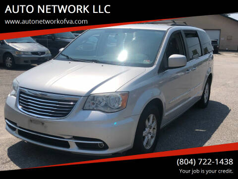 2011 Chrysler Town and Country for sale at AUTO NETWORK LLC in Petersburg VA