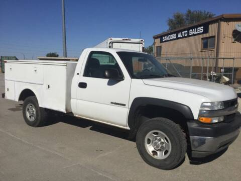2002 Chevrolet Silverado 2500HD for sale at Sanders Auto Sales in Lincoln NE