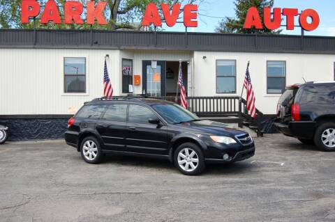 2009 Subaru Outback for sale at Park Ave Auto Inc. in Worcester MA