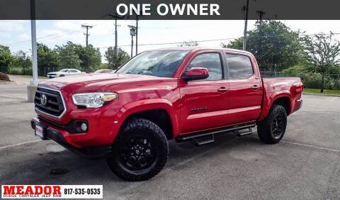 2020 Toyota Tacoma for sale at Meador Dodge Chrysler Jeep RAM in Fort Worth TX