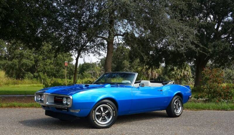1968 Pontiac Firebird for sale at P J'S AUTO WORLD-CLASSICS in Clearwater FL