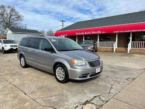 2013 Chrysler Town and Country for sale at Taylor Auto Sales Inc in Lyman SC