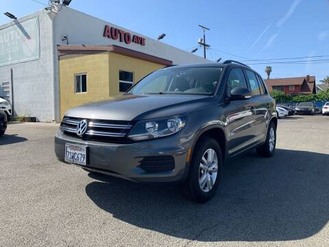 2016 Volkswagen Tiguan for sale at Auto Ave in Los Angeles CA